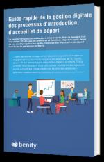 Guide rapide de la gestion digitale des processus d'introduction, d'accueil et de départ