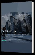 Le TOP 20  Q2 - 2021 des principaux acteurs de la mode de luxe dans les marchés leaders