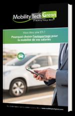 Pourquoi choisir l'autopartage pour la mobilité de vos salariés ?