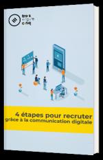 4 étapes pour recruter  grâce à la communication digitale