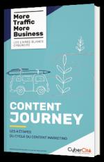 Content Journey - Les 4 étapes du cycle du content marketing