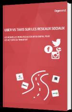Uber vs Taxis sur les réseaux sociaux