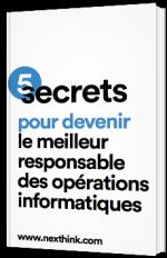 5 secrets pour devenir le meilleur responsable des opérations informatiques