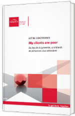 Lettre convergence - My clients are poor