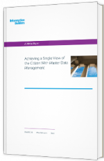 Achieving a Single View of the Citizen With Master Data Management