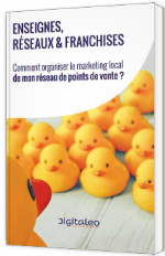 Enseignes, réseaux & franchises : Comment organiser le Marketing local de mon réseau de points de vente ?